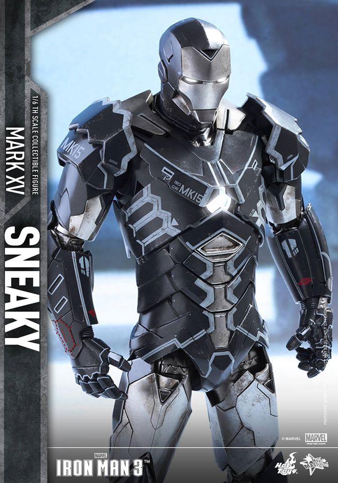 "IRON MAN 3 - MARK XV ""SNEAKY"" (MMS348) 160122024206668718"