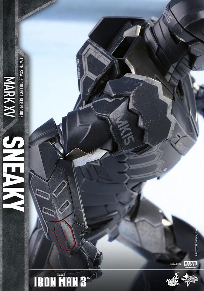 "IRON MAN 3 - MARK XV ""SNEAKY"" (MMS348) 160122024209582755"