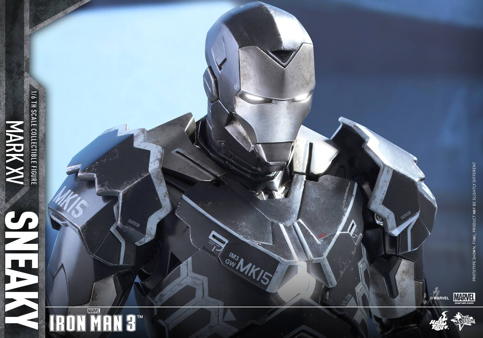 "IRON MAN 3 - MARK XV ""SNEAKY"" (MMS348) 160122024215266874"