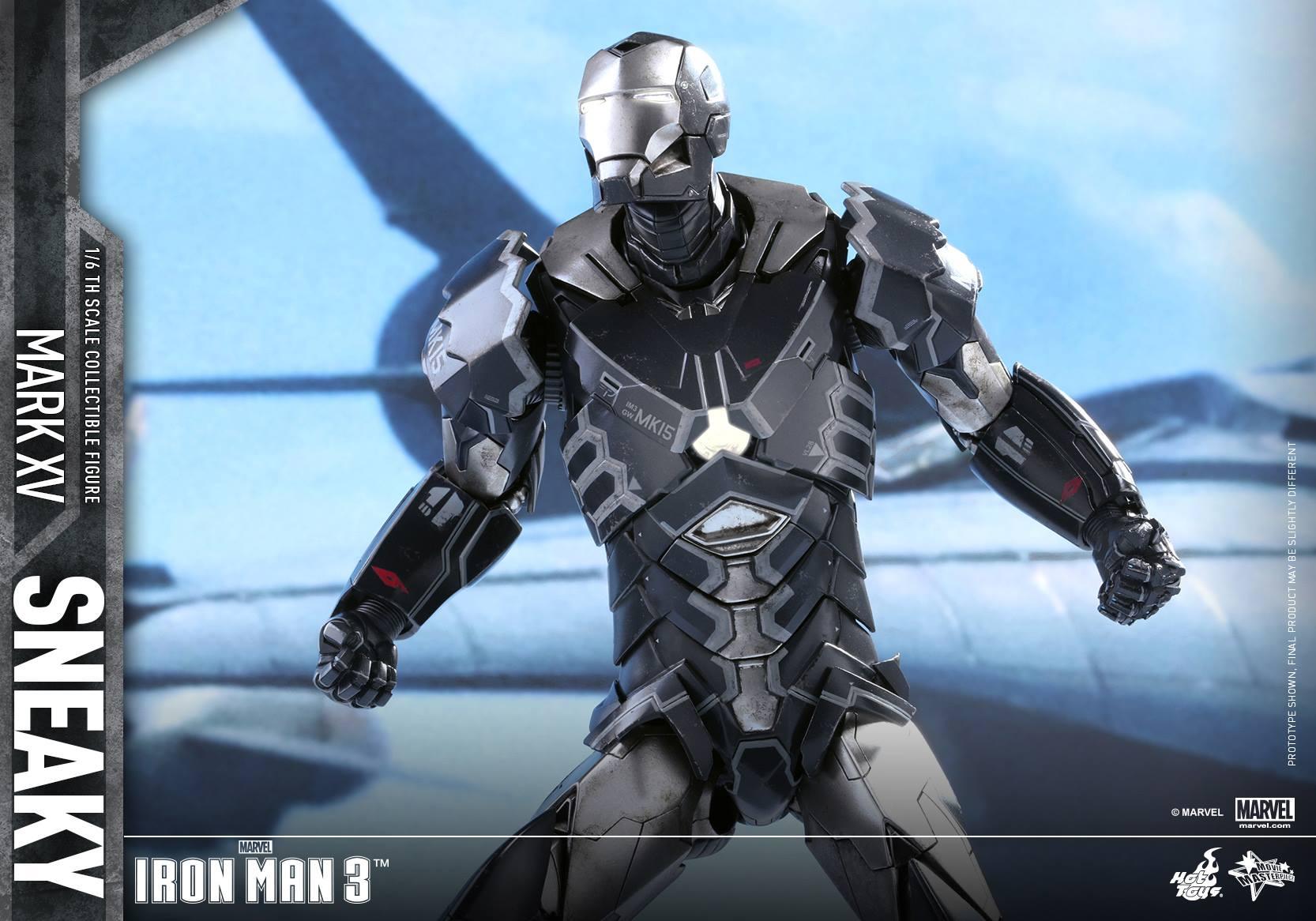 "IRON MAN 3 - MARK XV ""SNEAKY"" (MMS348) 160122024233415714"