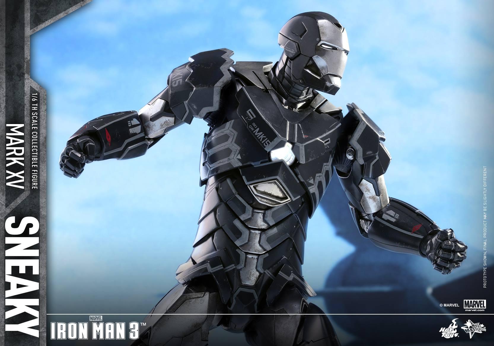 "IRON MAN 3 - MARK XV ""SNEAKY"" (MMS348) 160122024235755344"