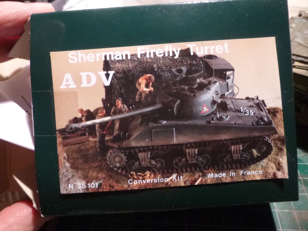 Sherman Firefly 1/35 base Dragon +ADV - Page 2 160123042654934761