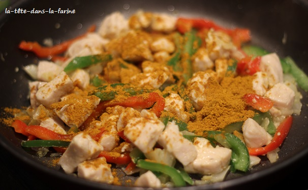 Poulet curry Ebly