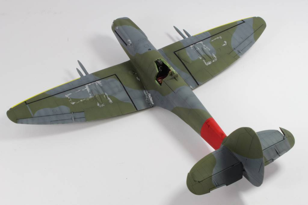 Spitfire F MK 22 , Eduard 1/48 .Limited édition ! 160131083038102579