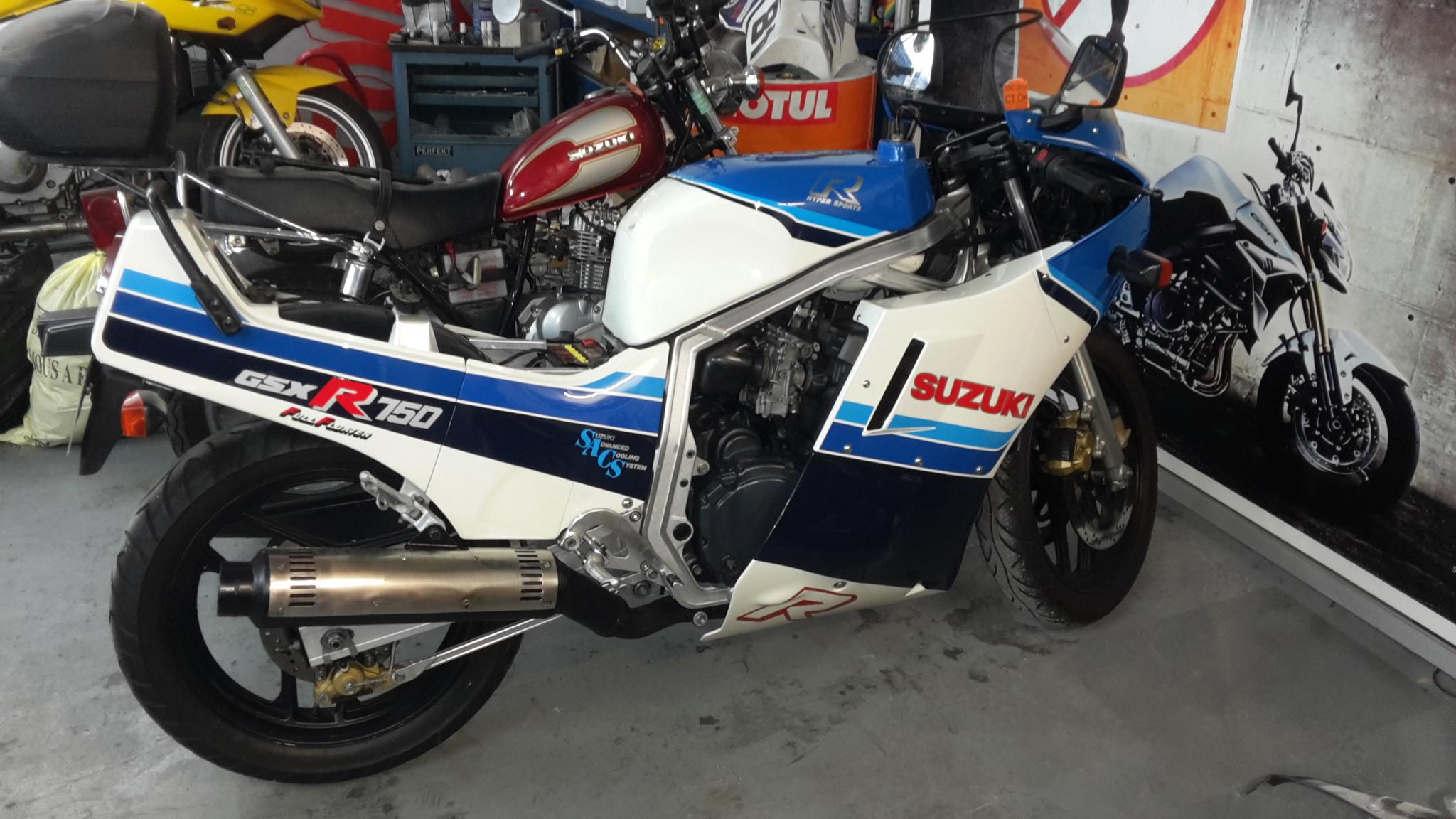 Suzuki GSX-R Slabside 750 (85-87) et 1100 (86-88) - Page 37 160208031059277499