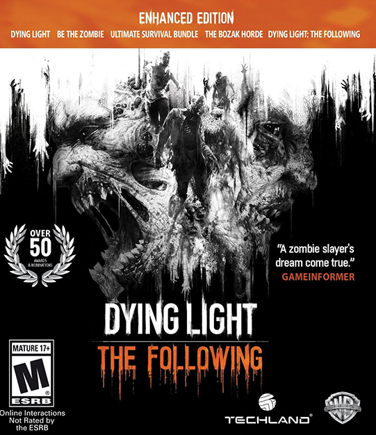 Poster for Dying Light: The Following - Enhanced Edition