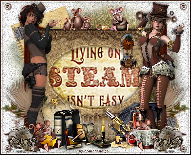 tuto perso my steampunk life