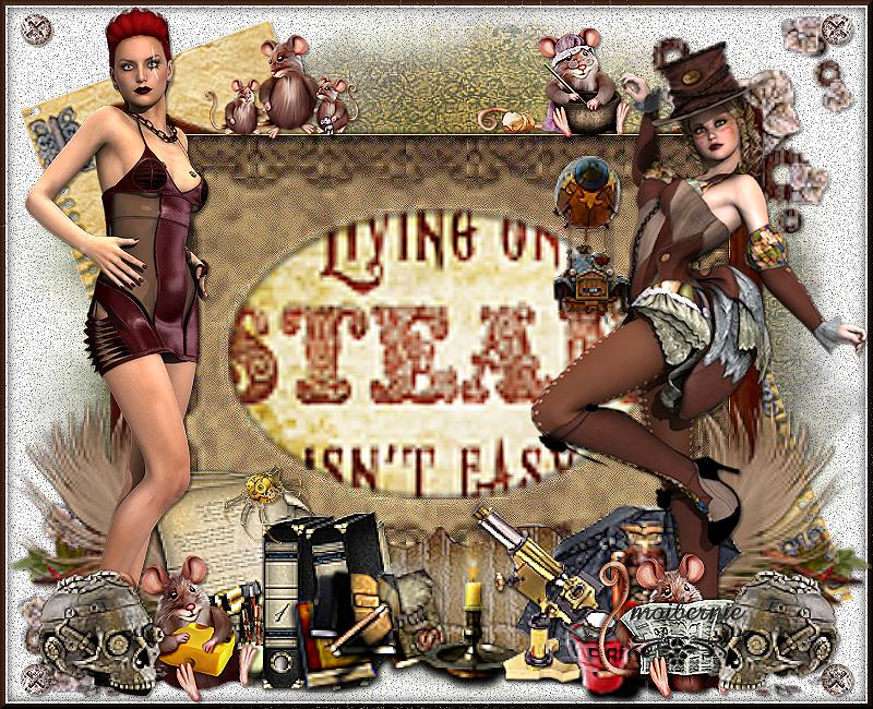 steampunk life