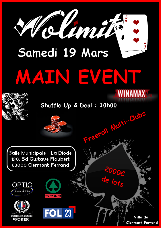 Main Event Nolimit 63 le 19 mars 2016 160215114730181252