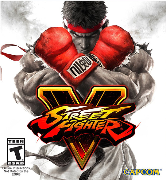 Poster for Street Fighter V