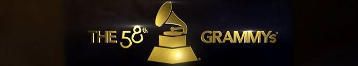 Poster for The 58th Annual Grammy Awards 2016