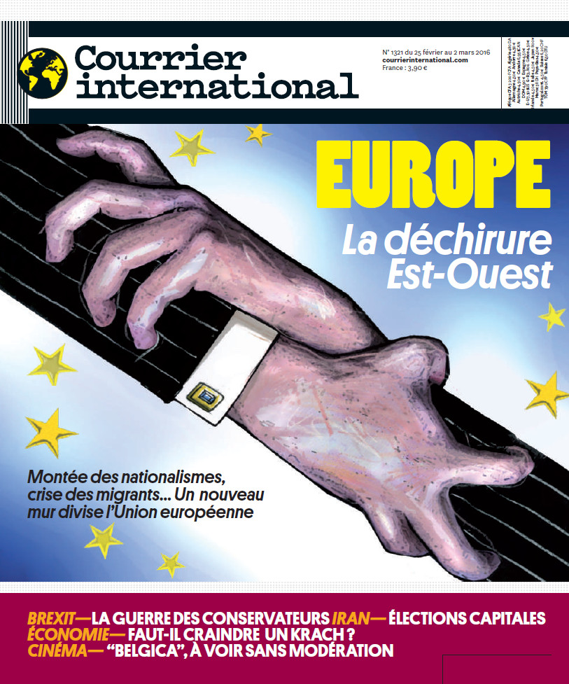 COURRIER INTERNATIONAL N°1321 du 25 Février au 2 Mars 2016