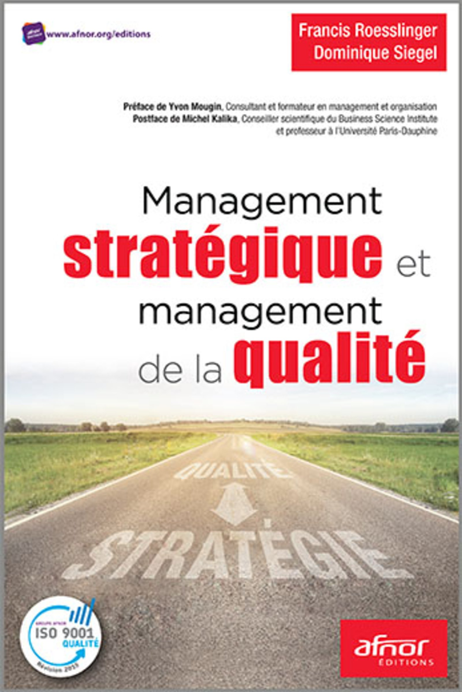 Management stratégique et management de la qualité : Les apports de la version 2015 de la norme NF EN ISO 9001