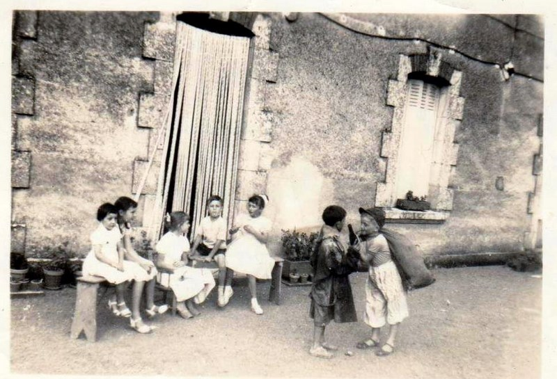 mon enfance ,en brigade à Lezay(79)en 1956 160225063447650187