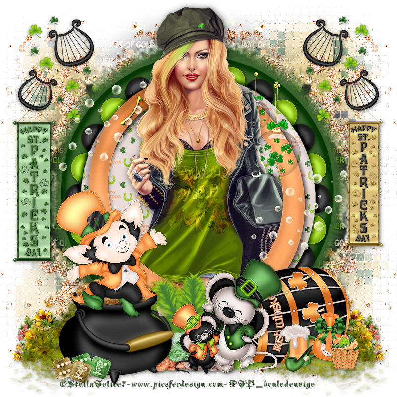 tuto happy st patrick day 2016