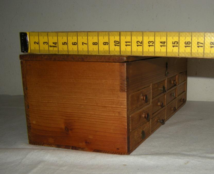 Petit meuble ancien de m tier layette ancienne de rangement horloger bijout - Contact mondial relay belgique ...