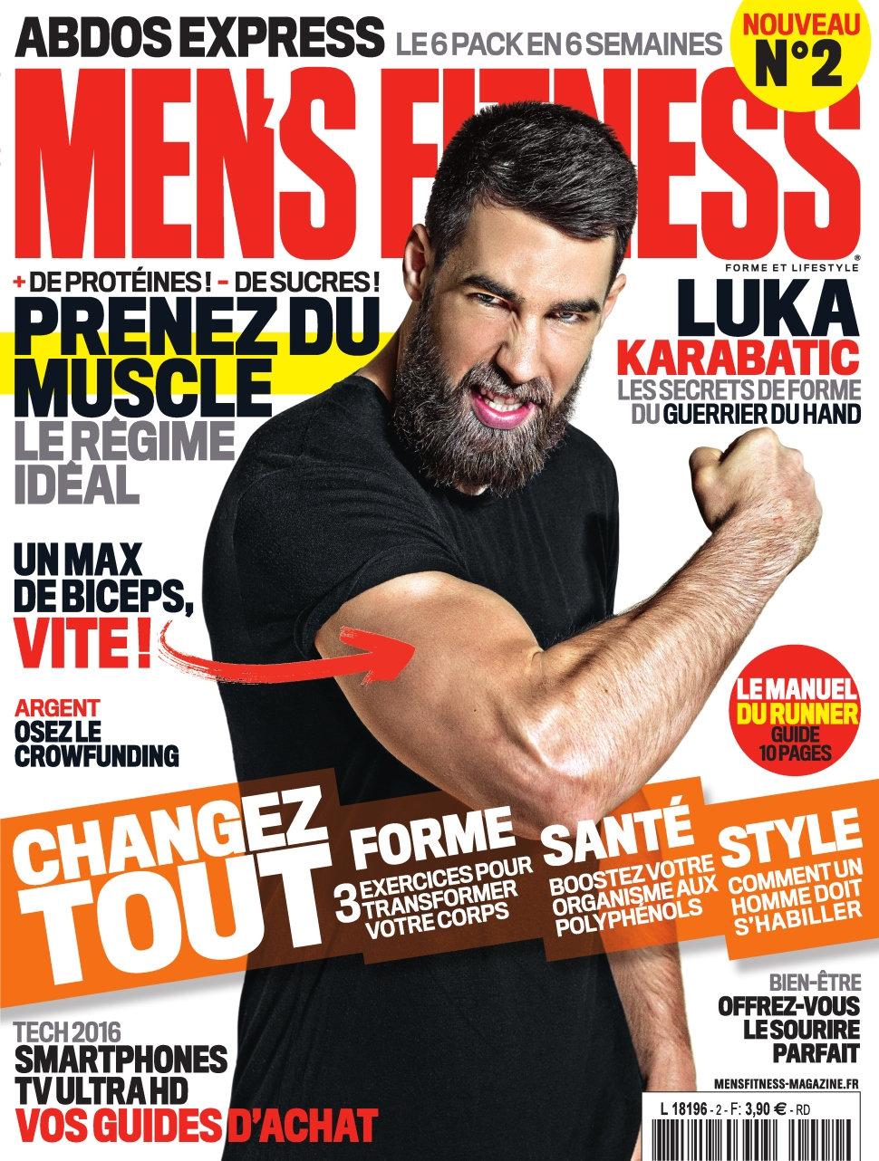 Men's Fitness N°2 - Avril 2016