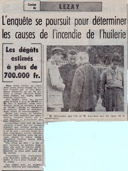 mon enfance ,en brigade à Lezay(79)en 1956 - Page 2 160316031703925217