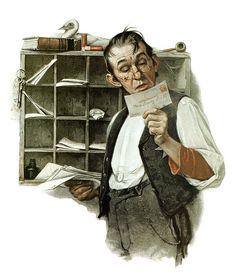 Les PTT, La Poste, les postes dans le monde et l'art. 160317012428816105