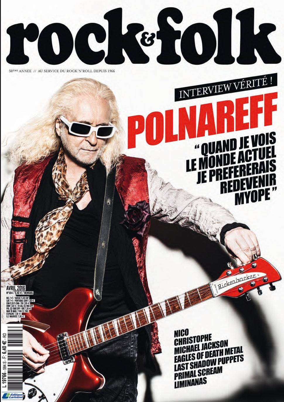Rock & Folk N°584 - Avril 2016