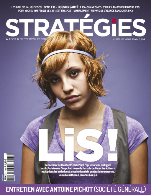 Stratégies N°1851 - 17 au 23 Mars 2016