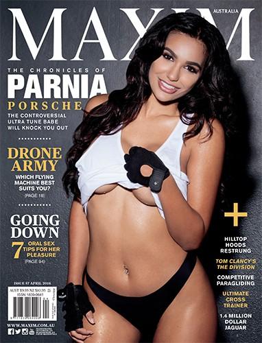 Maxim Australia - April 2016-P2P