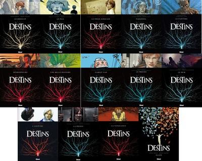 Destins - 14 tomes