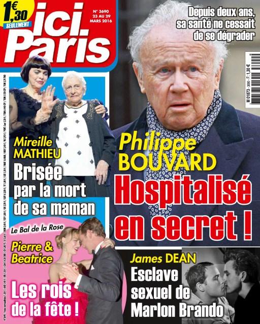 Ici Paris N°3690 - 23 au 29 Mars 2016