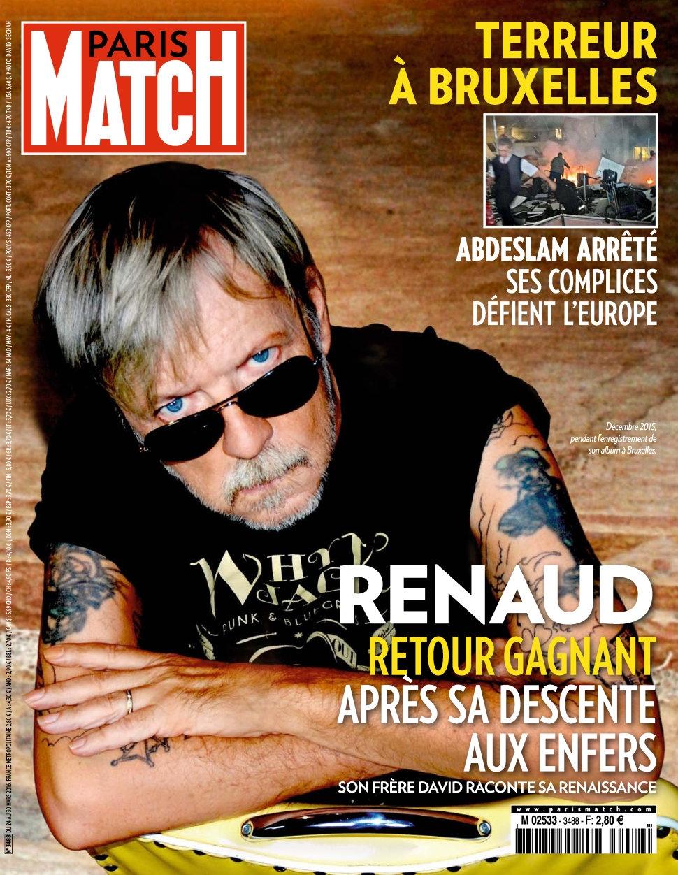 Paris Match N°3488 - 24 au 30 Mars 2016