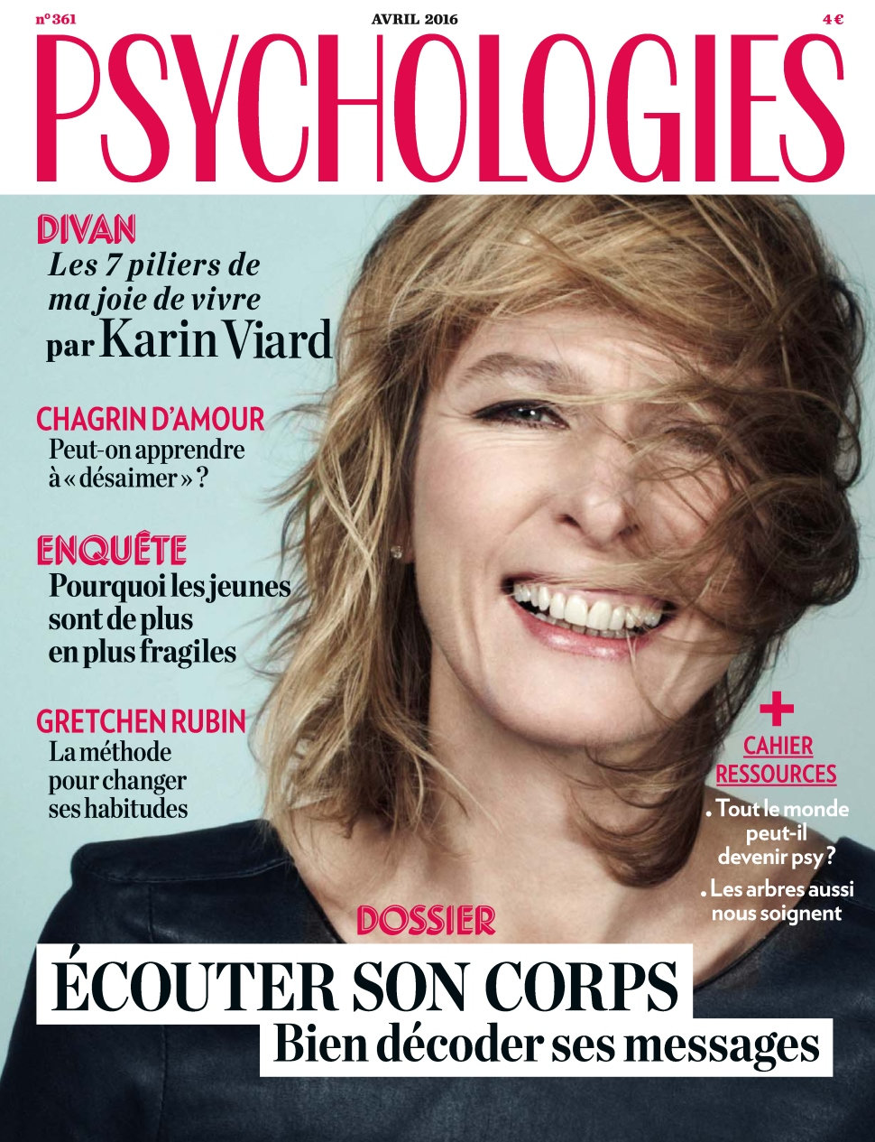 Psychologies Magazine N°361 - Avril 2016