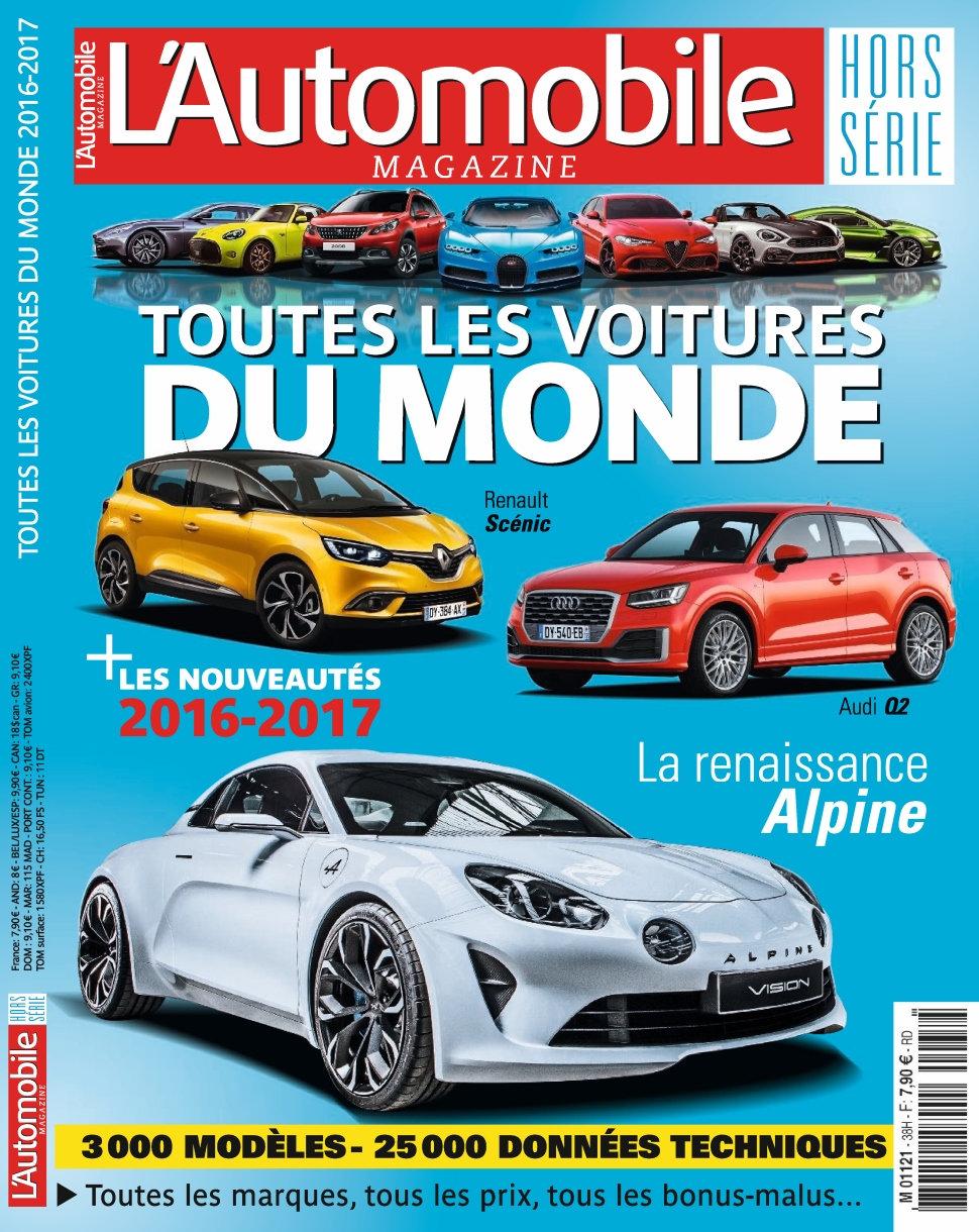 L'Automobile magazine Hors-Série N°64 - Toutes les voitures du monde 2016/2017