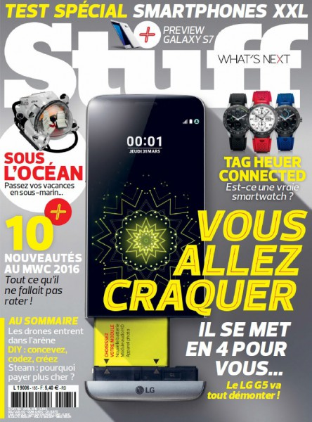 Stuff N°165 – Avril 2016