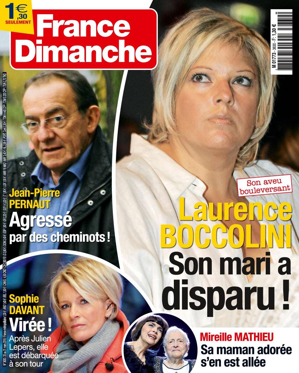 France Dimanche N°3630 - 25 au 31 Mars 2016
