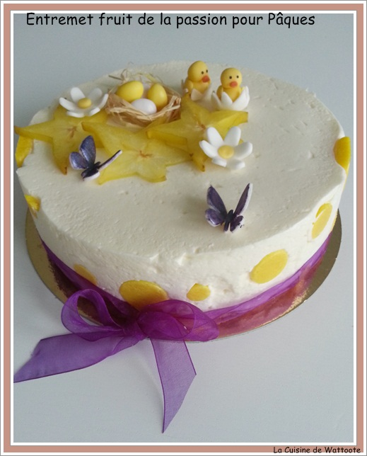 entremet fruit de la passion