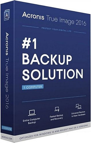 Acronis True Image 2016 19.0 Build 6027