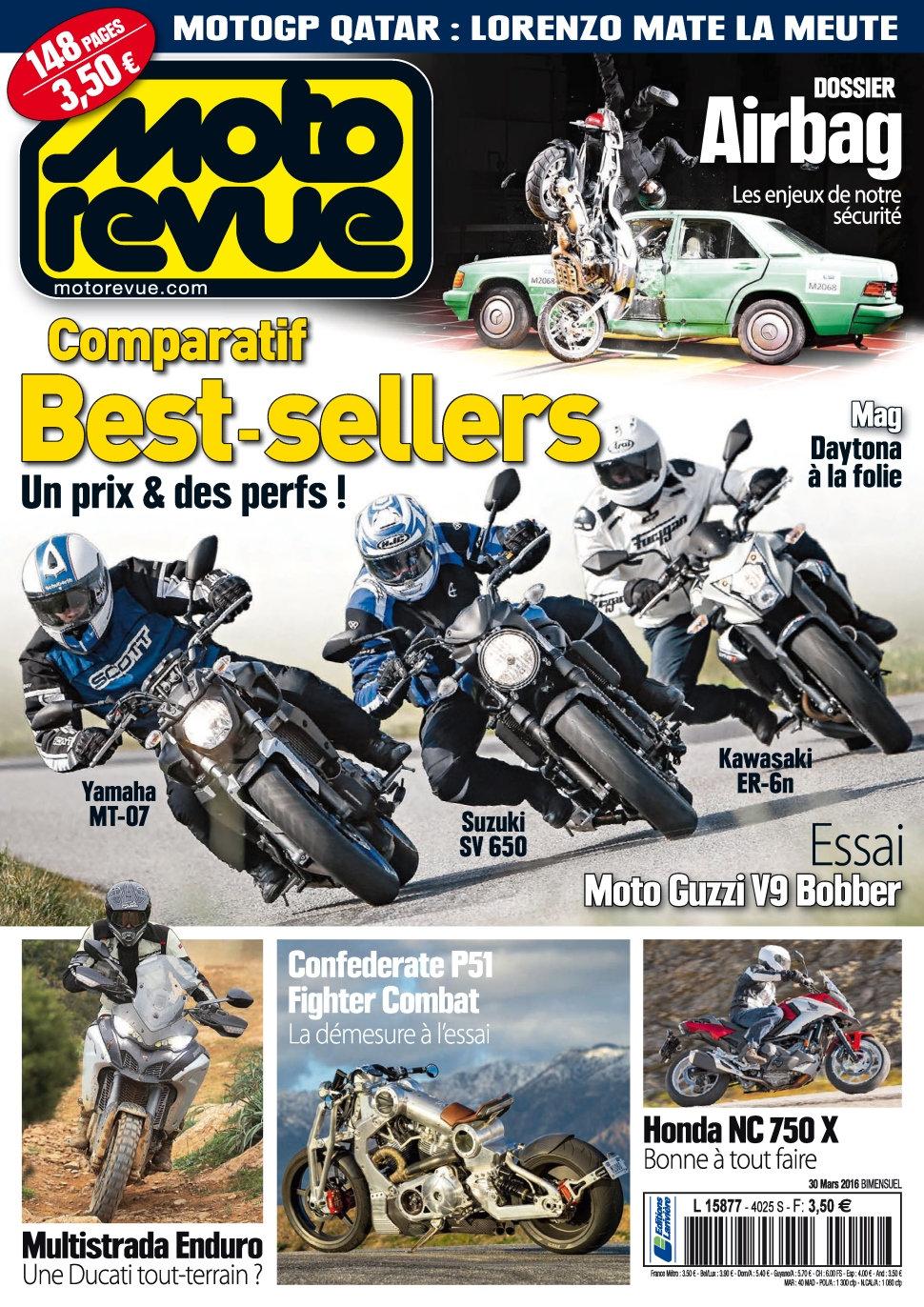 Moto Revue N°4025 - 30 Mars 2016