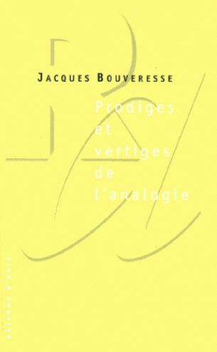 télécharger Prodiges et vertiges de l'analogie – Jacques Bouveresse
