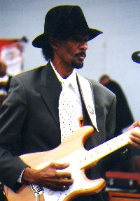 Clarence 'Guitar' Sims,  aka Fillmore Slim 160331104325254201