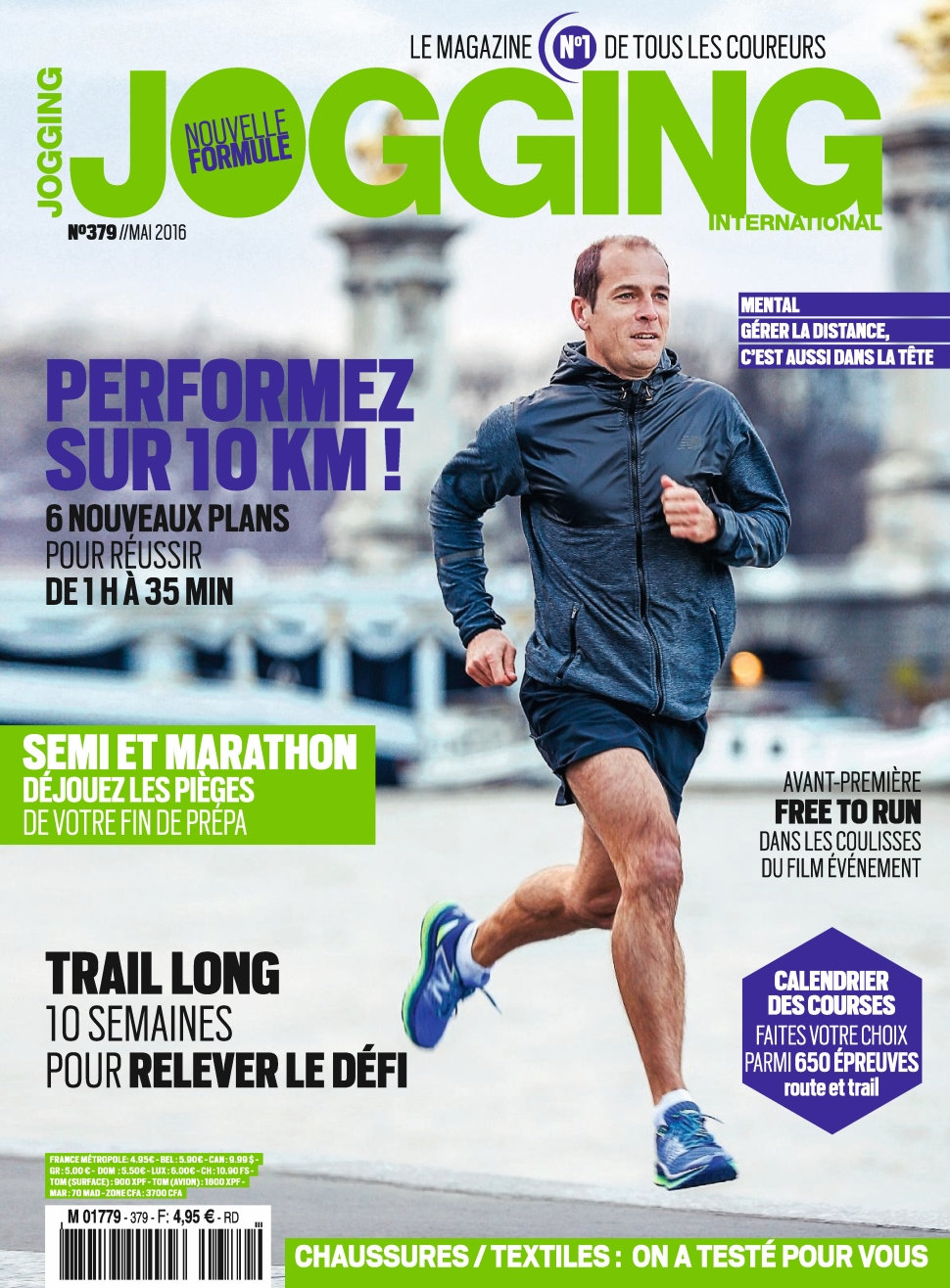 Jogging International N°379 - Mai 2016
