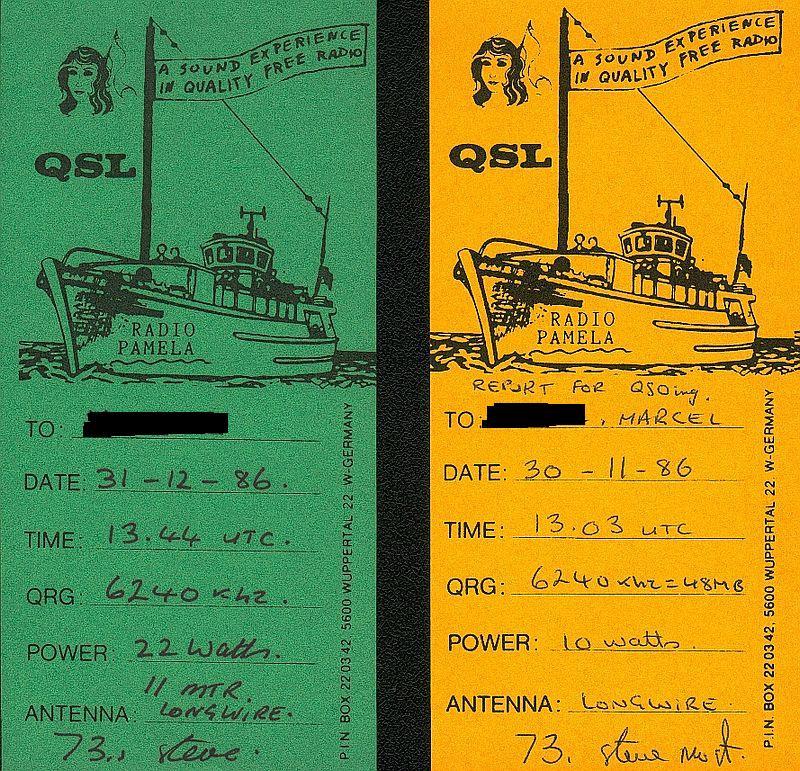 QSL R.PAMELA 1986  16040305311288430