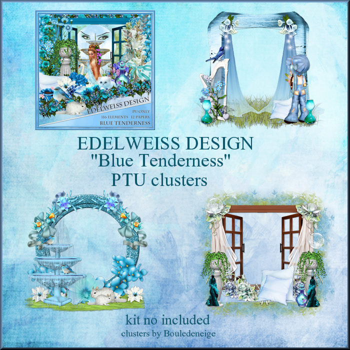 preview clusters blue tenderness
