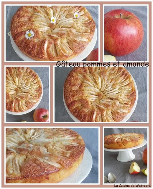 gâteau pomme amande