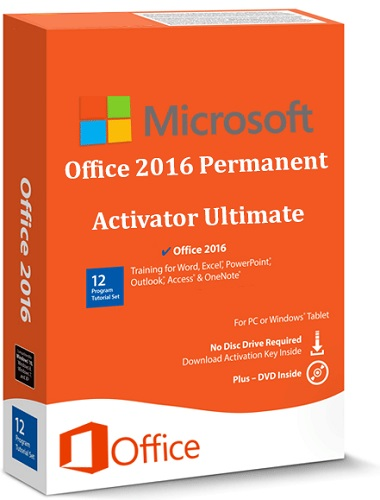 Office 2016 Permanent Activator Ultimate v1.0   Portable
