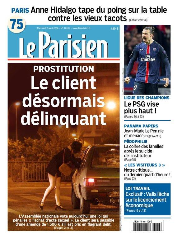 Le Parisien   Journal de Paris du Mercredi 06 Avril 2016