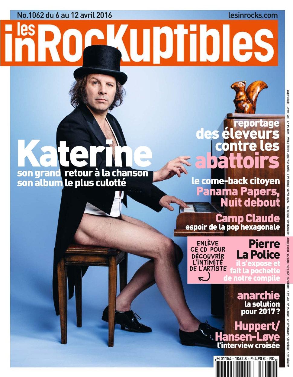 Les Inrockuptibles N°1062 - 6 au 12 Avril 2016