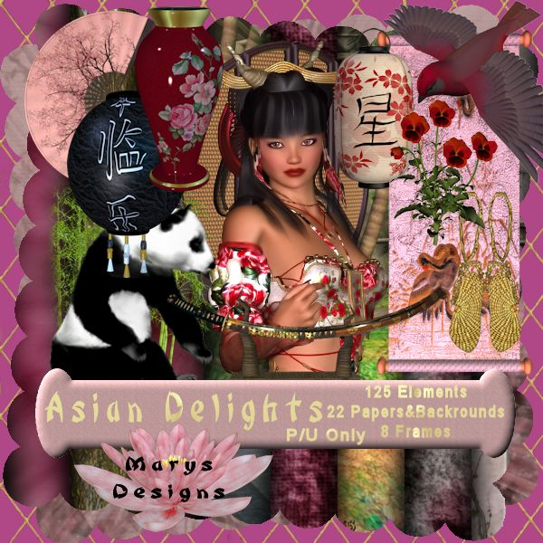 Asian Delights Preview