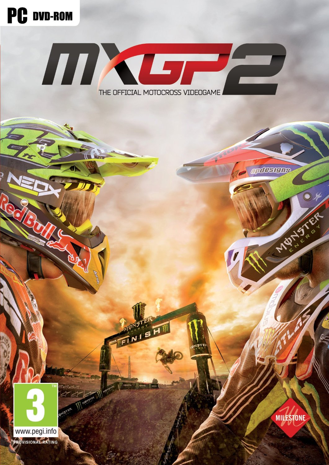 Poster for MXGP2: The Official Motocross Videogame
