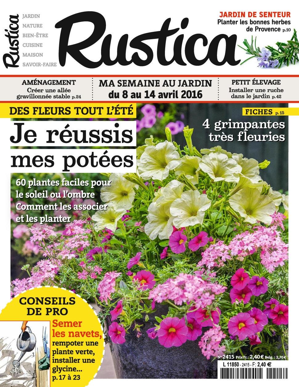 Rustica N°2415 - 8 au 14 Avril 2016