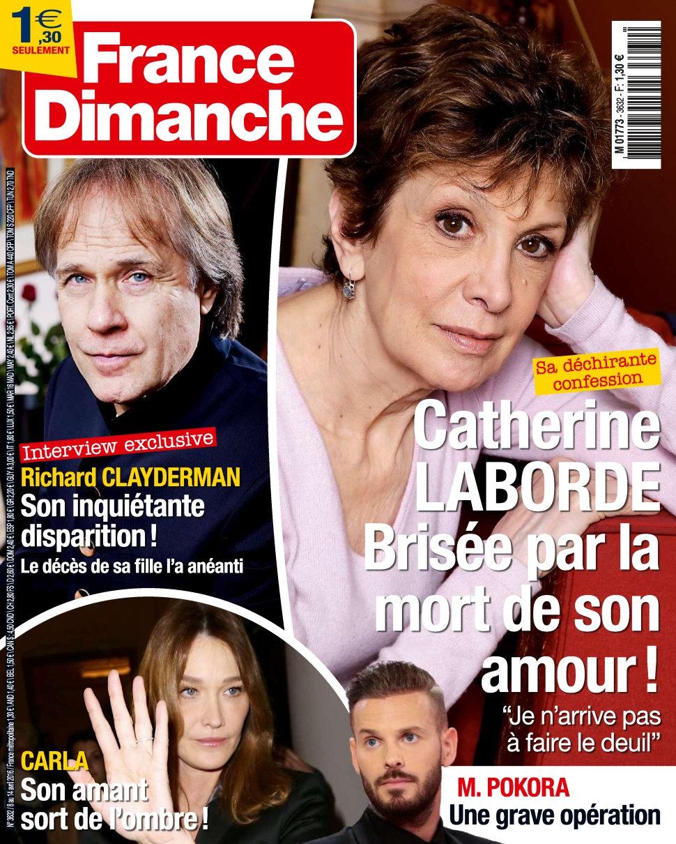 France Dimanche N°3632 - 8 au 14 Avril 2016