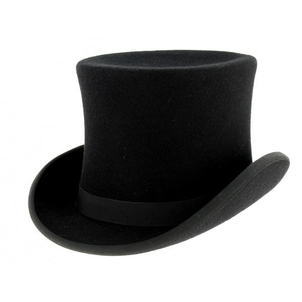 chapeau-haut-de-forme-feutre-laine-noir